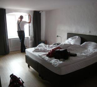 Der Blick auf den Hof Hotel Landgasthof Rebstock