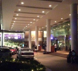 Eingang zum Hotel Hotel InterContinental Hong Kong