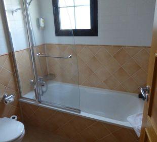 Duschbereich Hotel Luz Del Mar