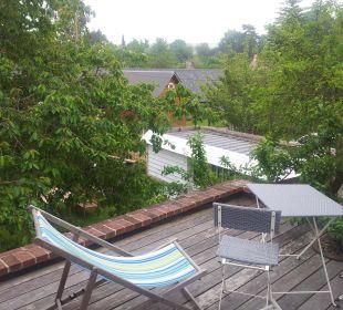 La terrasse privative B&B Aux Rives de Honfleur