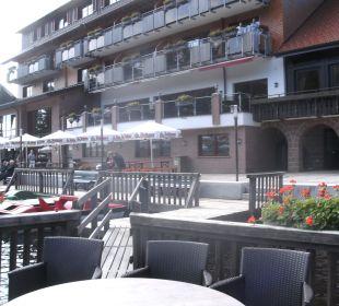Terrasse Berghotel Mummelsee