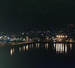 Alanya vue de nuit  smartline Kaptan