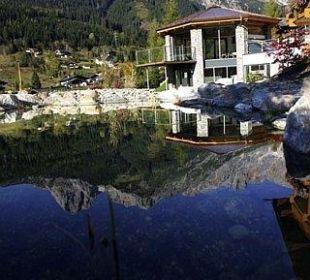 Unser kleiner Teich Hotel Almhof
