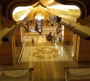 Ausblick von 3 Etage  Hotel Royal Dragon