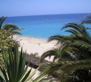 Blick vom Balkon Hotel Rocamar Beach