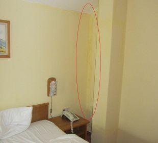 Schimmel im Schlafzimmer Sonnenhotel Eichenbühl