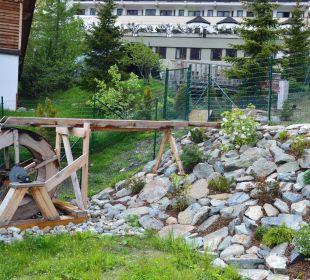 Gartenanlage Alpinhotel Monte