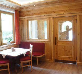 Eingangsbereich Pension Alpina