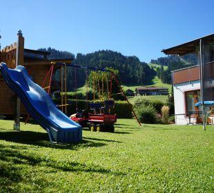 Gartenanlage Pension Alpina