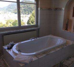 Große Badewanne Hotel Schloss Mönchstein