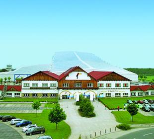 Luftbild alpincenter & van der Valk Hotel Wittenburg