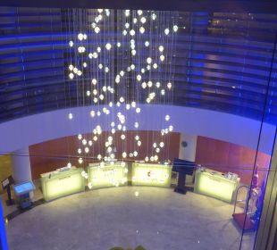 Blick auf die Rezeption Sensimar Side Resort & Spa