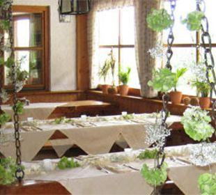 Das Restaurant Berggasthof Rosengasse