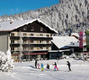 Hotel Gorfion direkt an der Skipiste Gorfion - Das Familienhotel