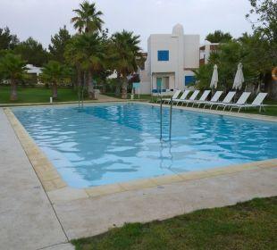 Der untere Pool (ohne Bademeister)  COOEE Cala Llenya Resort Ibiza