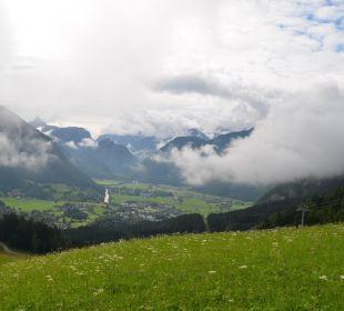 Ausblick Bergbahn oben   Gasthaus-Pension Forellenstube