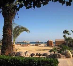 Ausblick vom Bungalow Hotel Shams Safaga