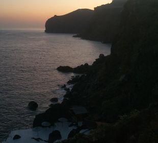 Ausblick gegen Abend Galo Resort Galosol