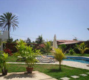 Garten 4 Ferienhaus Villa Cocuyo Apartments