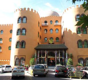 Hoteleingang Hotel Alhambra Palace