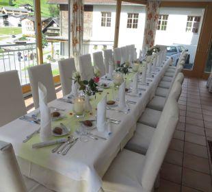 Schöner gemütlicher Wintergarten! Hotel Silbertal