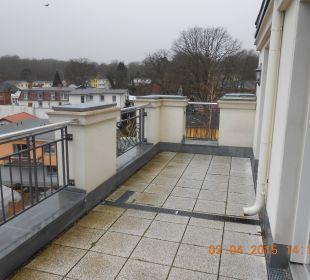 Großer Balkon SEETELHOTEL Ostseeresidenz Heringsdorf