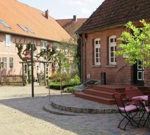 Eingang Restaurant Familotel Landhaus Averbeck
