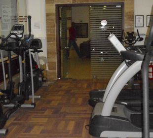 Fitnessraum Hotel Oleander