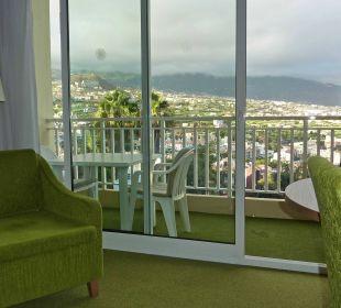 Ausblick vom Zimmer 323 Hotel Tigaiga