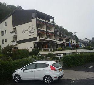 Außenansicht Moselromantik Hotel Thul