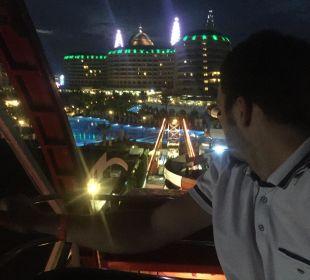 Aussicht vom Riesenrad (hoteleigen) Hotel Delphin Imperial