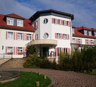 Außenansicht Berghotel Ilsenburg