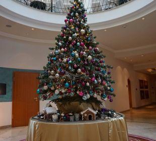 Alles wunderschön weihnachtlich geschmückt Hotel Travel Charme Strandidyll