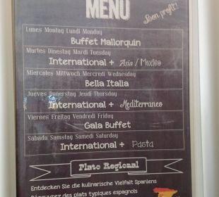 Themenabende im Restaurant Universal Hotel Lido Park