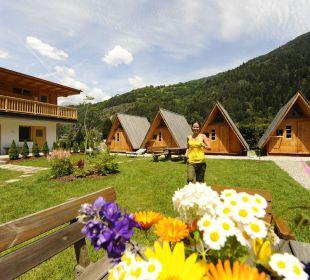 Gartenanlage mit kostenlosem Wlan feel free Adventure Camp