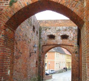 Durchgang vom Hotel zur Stadt Ringhotel Schloss Tangermünde