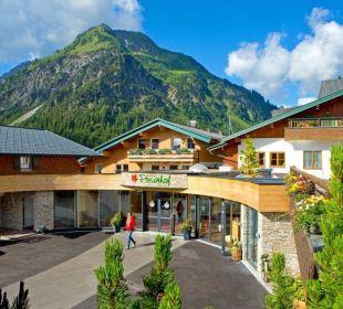 Neuer Eingangsbereich Der Kleinwalsertaler Rosenhof