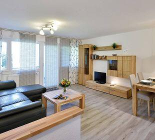 Wohnzimmer Premiumappartement Die Gams Hotel - Resort