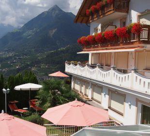 Uitzicht vanaf zonneweide Hotel Grafenstein