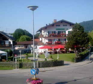 Ausblick aus dem Zimmer Hotel Bellevue