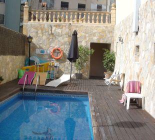 Der nette kleine Pool Hotel Marbel