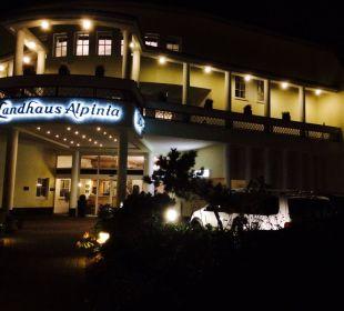 Iluminacja nocna Hotel Landhaus Alpinia
