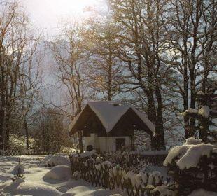 Unser Backofen - tief verschneit Pension Ötzmooshof