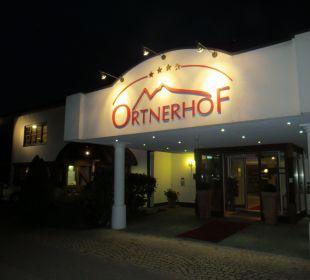 Ortnerhof bei Nacht - mal anders, sehr schön Wohlfühlhotel Ortnerhof
