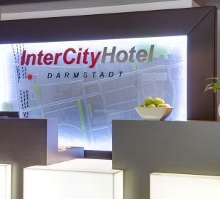 Rezeption InterCityHotel Darmstadt