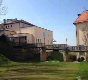Außenansicht Burghotel Staufeneck