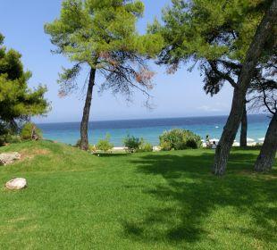 Gartenanlage Aegean Melathron Thalasso Spa Hotel