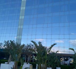 Außenbereich W Barcelona Hotel