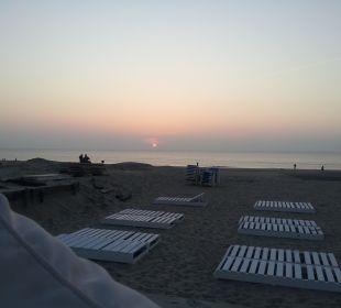 Ich fand den Sonnenuntergang so schön,dehalb noch  Center Parcs Park Zandvoort - Strandhotel
