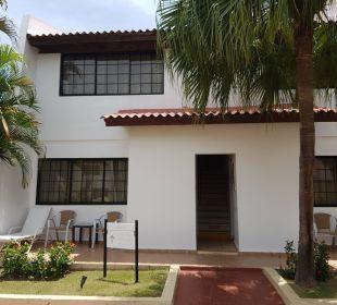 Aufgang zum Zimmer  Hotel BlueBay Villas Doradas